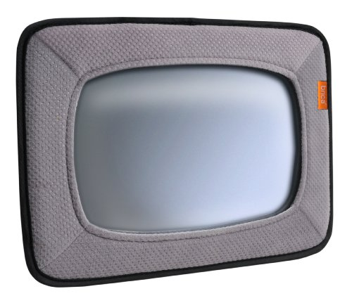 Munchkin Brica Baby in-Sight Car Mirror, Crash Tested and Shatter Resistant, Grey