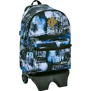 51tgjKpB6nL. SS300  - Santa Monica Aloha Teen Carro Desmontable, Color Azul