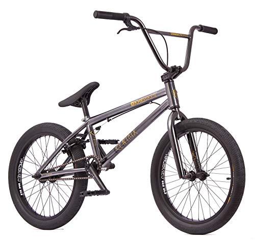 KHE Bicicletta BMX CENTRIX 20 pollici brevettata Affix 360° rotore solo 10,5 kg! Colore: nero/antracite