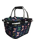 Outdoor portable folding picnic basket car insulation package (Color : A)