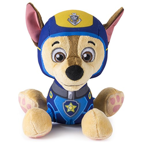Spin Master Paw Patrol – Sea Patrol – Pup Pals – Chase – Petite Peluche Pat' Patrouille