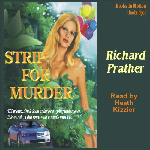 Strip for Murder audiobook cover art