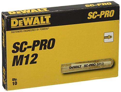 DEWALT DFC1510100 Cápsula de anclaje químico 31140 SC-PRO M12
