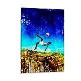 HGFDJ Pele Brasilien Poster, dekoratives Gemälde,