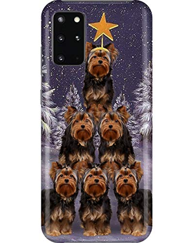 Yorkshire Christmas Tree Phone Case for Samsung Galaxy Note 9 - Case with 3D Printed Design, Slim Fit, IMD Soft TPU Cover