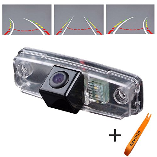170° Viewing Reversing Track Camera Ruler Line with The Steering Wheel Moving Rear View Backup Trajectory Camera Parking Assistant System