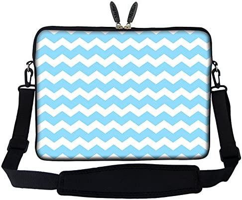 Meffort Inc 15 15 6 inch Neoprene Laptop Sleeve Bag Carrying Case with Hidden Handle and Adjustable product image