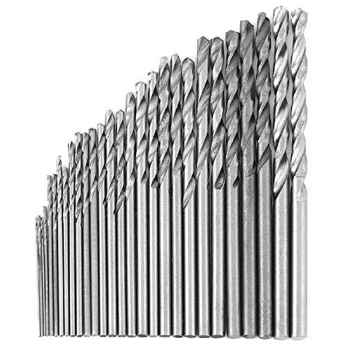 Brocas Para 16pcs 0.8-1.5mm HSS recubierto Sierra Sierra Carpintero Herramienta recta herramienta eléctrica Terreno