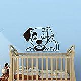 Tacheté Chien Pépinière Stickers Muraux Pour Enfants Chambres Vente Chaude Décoration de La Maison Belle Chiot Pet Shop Amovible Art Stickers Y 78x56 cm