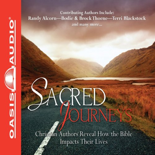 Sacred Journeys     Christian Authors Reveal How the Bible Impacts Their Lives              By:                                                                                                                                 Oasis Audio                               Narrated by:                                                                                                                                 Wayne Shepherd,                                                                                        Randy Alcorn,                                                                                        Terri Blackstock,                   and others                 Length: 57 mins     21 ratings     Overall 4.5