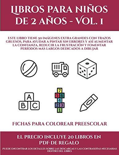 Fichas para colorear preescolar (Libros para niños de 2 años - Vol. 1): Este libro tiene 50 imágenes extra grandes con trazos gruesos, para ayudar a ... y fomentar períodos más largos ded (8)