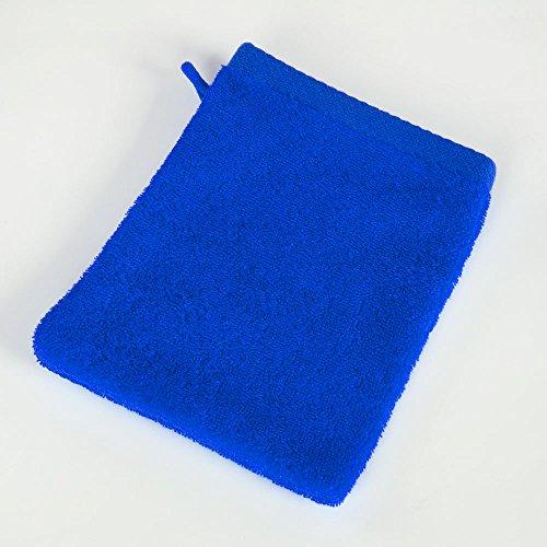 Mixitextil - Juego de 2 Toallas de Mano, Resistentes a la decoloración, Toallas de baño, Toallas de Rizo, Color Azul