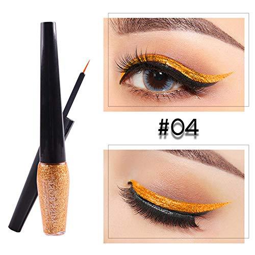 Palette de maquillage pour les yeux, 5 Glitter et 20 Ombre à paupières Matt & Shimmer, Palette de maquillage hautement pigmentée avec miroir de maquillage