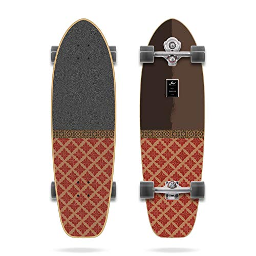 Teahupoo 34' Complete Surfskate YOW, Power Surfing Series, Multicolor