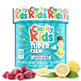 Clarity Kids (Super Calm), ADHD Supplements for Kids, 100% Natural ADHD Medicine