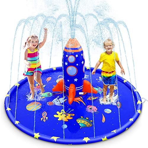 Splash Pad for Kids, 70