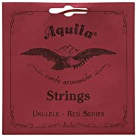 Aquilaレッドシリーズaq-84 Soprano Ukulele Strings – Low G – 1セットの4