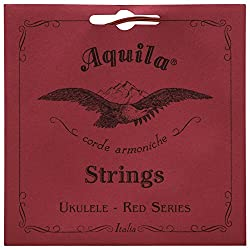 The Aquila Red Series Ukulele Strings