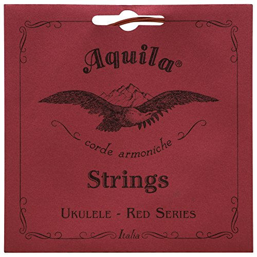 Aquila Red Series AQ-86 Concert Ukulele Strings - Low G - 1 Set of 4