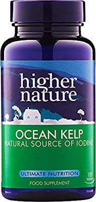 Higher Nature Ocean Kelp 300mg Pack of 180 by Higher Nature