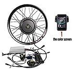 theebikemotor Waterproof 48V1500W Elektro-Fahrrad Umbausatz Electric MTB Bicycle Bike Conversion Kit MTX Rim (28', Rear Wheel + TFT Display)