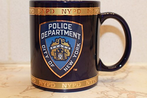 NYPD Coffee Mug Officially Licensed by The New York Police Department by Anti Crime Security Inc.