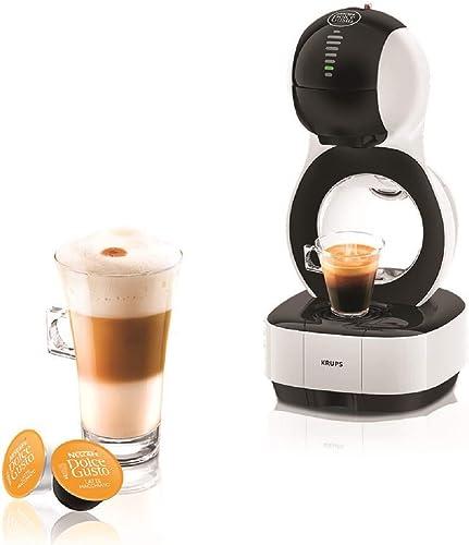 Krups YY3042FD Machine à Café à Capsules Nescafé Dolce Gusto Lumio - Automatique - Qualité Professionnelle - Pression...