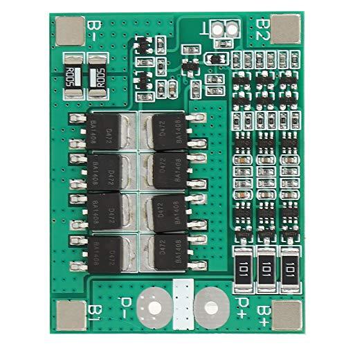 Changor Placa de protección de la batería de litio, módulo cargador rápido de 4,25 V con batería de litio inteligente dorada