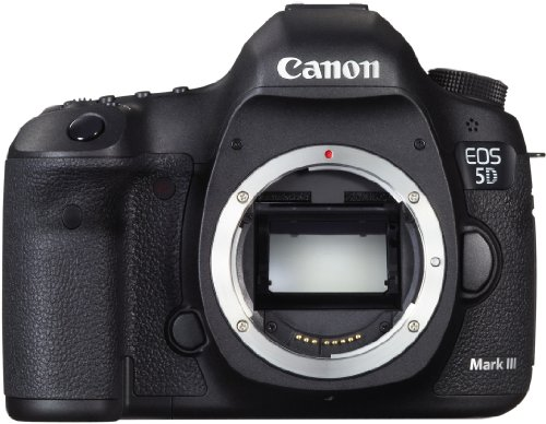 Canon EOS 5D Mark III - Cámara réflex Digital (22 MP, Sensor CMOS Full Frame, Procesador DIGIC 5+) (Cuerpo) Color Negro [Importado]