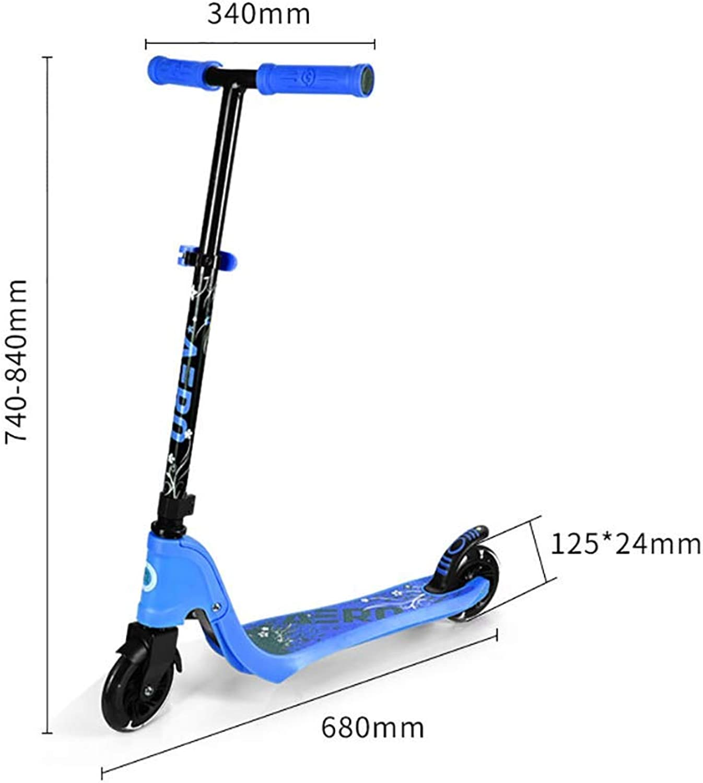 hasta un 50% de descuento ZLL ZLL ZLL Patineta Scooter-Scooter plegable para Niños Patada para Niños pequeños con rueda y freno trasero iluminados con pu, ajustable para Niños mayores de 3 años, Cochega máxima de 80 kg, el mejor regalo  Ahorre 35% - 70% de descuento