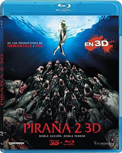 Piraña 2 (Bd 3d + 2d) [Blu-ray]