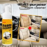 Grospe Car Upholstery Cleaning Foam Cleaner,Car Seat Interior car cleaner,Auto Leather Clean, Wash
