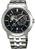 Orient Sun and Moon Automatic Black Dial Mens Watch FET0P002B0