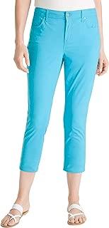 Women's Sateen Slim Crop Jeans