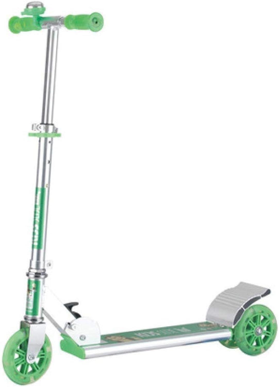 buena calidad XHLJ Scooter, Par De Juguete para para para Niños, Aluminio PU Flash, Scooter, Pedal De Tres Ruedas con Pedal  hasta un 60% de descuento
