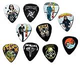 Metallica Classic Set de 10púas de guitarra sueltos Pick