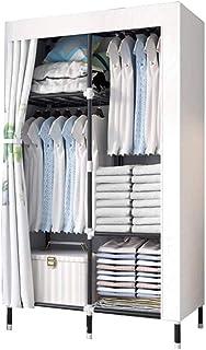 HWG Armoire à Vêtements en Tissu Armoire Penderie Portable Montage Simple Et Rapide Extra Fort Et Durable, Utilisé pour St...