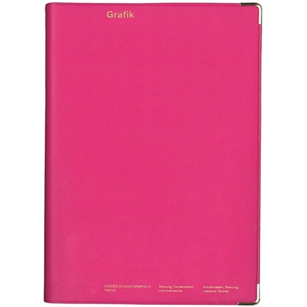 書き出すディレクター中級デルフィーノ コーテッド 2020年 バーチカル手帳 A5サイズ ウィークリー TALCO PINK 2019年12月始まり COT-46725
