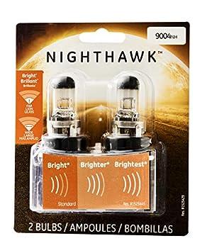 GE Lighting 9004NH/BP2 Nighthawk Halogen Automotive Replacement Bulb 2-Pack