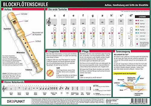 Blockflötenschule: Aufbau, Handhabung und Griffe der Blockflöte
