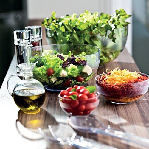 Ou Premium Design- Unbreakable Clear Tritan Bowls, Set of 4-22 oz