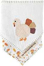 Mud Pie Bandana Bib Set, Thanksgiving