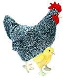 Adore 12' Standing Wynonna The Hen Chicken with Baby Chick Plush Stuffed Animal Toy