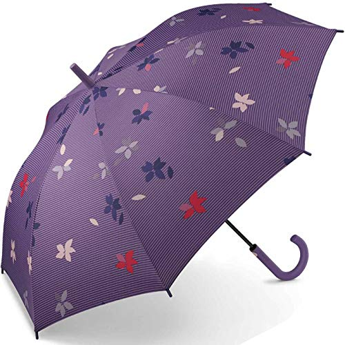 Esprit Long AC Flower Rain - Paraguas Multicolor Mystical 105 cm
