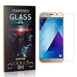 GIMTON Vetro Temperato per Galaxy A5 2017, Nessuna Bolla, 9H Durezza, 0.26mm Ultra Sottile Pellicola Protettiva in Vetro Temperato per Samsung Galaxy A5 2017, 1 Pezzi