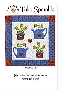 Tulip Sprinkle Wall Quilt Pattern