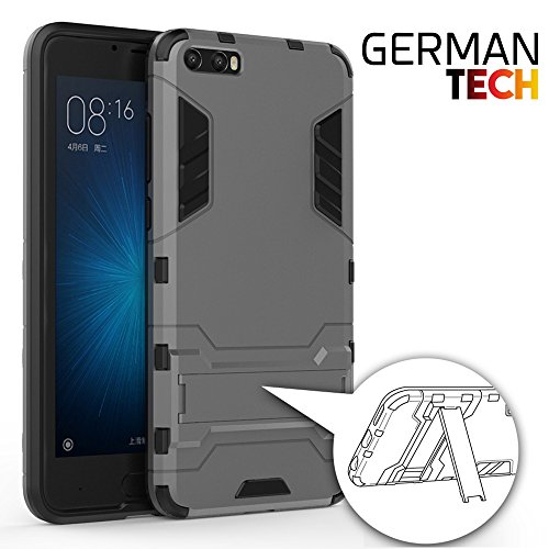 GERMAN TECH Cool Shield – Custodia Ibrida per Xiaomi MI6 Plus, Colore: Oro