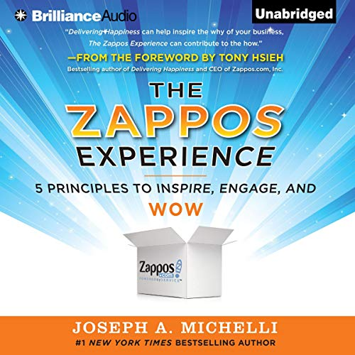 The Zappos Experience audiobook cover art