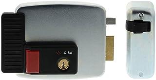 Cerradura eléctrica Cisa, 12 V, galvanizada, plateado,