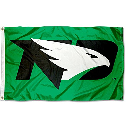 College Flags & Banners Co. North Dakota Fighting Hawks New Logo Flag
